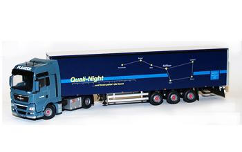Modell Quali-Night Original-Plane / 1:50 / 5 Achs MAN TGX-XXL / Tekno